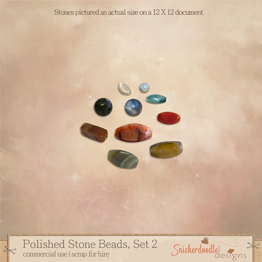 preview Polished Stone Beads-2